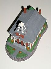 """NORMAN ROCKWELL HOME TOWN COLLECTION """"CHURCH ON THE GREEN"""" FIGURINE COLLECTIBLE"""
