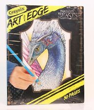 Crayola Art with Edge : Fantastic Beasts Coloring Pages - NEW Sealed in Plastic