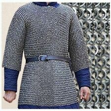 Chain mail Shirt 8 mm Flat riveted With Warser extra Large size medieval armor