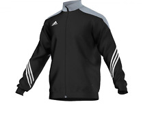 Adidas Herren Gr. L F49712 Trainingsjacke Sport Jacke PES Suit Schwarz A2674