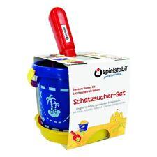 spielstabil Schatzsucher-Set classic Eimer Sieb Schaufel 7531 für Sandkasten NEU