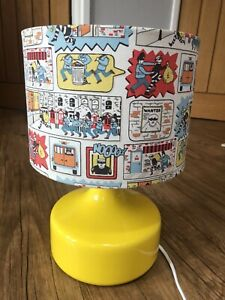 Cath Kidston Stop Thief Lamp. Bedside Light. Ideal For Children's Room