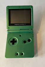 Gameboy Advance SP GBA Green Console