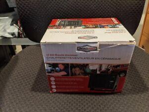 Road Pro 12-Volt Direct Hook-Up Ceramic Heater/ Fan with Swivel Base RPSL_681