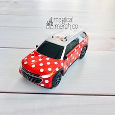 2019 Disney Parks GM Chevy Licensed Minnie Van Toy Cars Red White Polka Dots