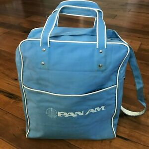 Vintage 1970's Pan Am Airlines Crew Bag