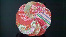 Japonais Traditionnel Chiyogami Washi Yuzen Papier ~ 20 Circulaire Feuilles ~ 12 Cm Large