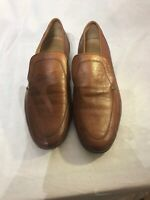 Grenson True Moccasin Mens Tan Leather Shoes Uk 6 Ref Ba12