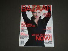 2001 OCTOBER HARPER'S BAZAAR MAGAZINE - KATE BLANCHETT COVER - SP 4558