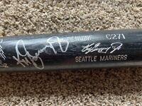 """Ken Griffey Jr Signed 34"""" Louisville Slugger Bat Autographed AUTO"""