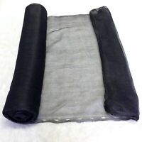 2m x 10m Yuzet Black Debris Scaffold Netting/Windbreak Shade Crop Protection