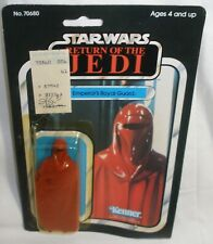 Star Wars ROTJ Emperor's Royal Guard New on Card
