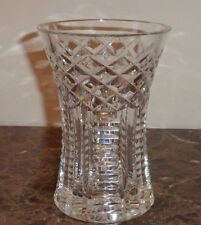 Waterford Cut Crystal Glass Vase 6""