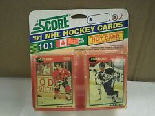 OLDER HOCKEY CARDS SCORE 1991- CANADIAN ENGLISH SERIES 1- KEITH BROWN- NEW- L136