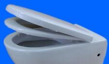 WC Sitz mit Absenkautomatik softclose zu Villeroy & Boch  WAND WC  Subway  WEISS