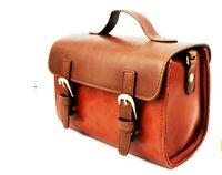 Brown coffee Camera leather case to Fujifilm Instax mini 90, 8, 50S 25, 7S Films