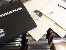 IANNIS XENAKIS 5-LP BLACK BOX ELECTRONIC AVANTGARDE EXPERIM ORIG Erato STU 70526