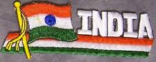 Embroidered International Patch National Flag of India NEW streamer