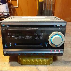 Carrozzeria Pioneer FH-P520MD Car Audio CD MD Deck working used