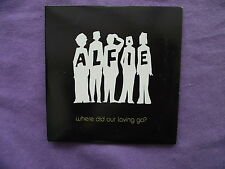 Alfie - Where Did our Loving Go? Promo CD Single.