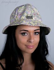 Ladies, mens, bucket hats, sun derby holiday, hip hop urban floral & paisley