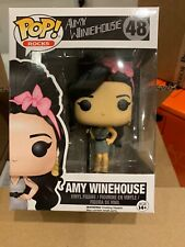 Funko Pop Amy Winehouse Rock Action Figure Free Shipping Vhtf And Vaulted C Pic