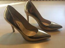 Pumps Peter Kaiser Evita Leder gold 37 Made In Italy neuwertig