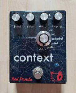 Red Panda Context V1 Reverb Pedal