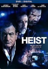 Heist [DVD + Digital] Robert De Niro, Dave Bautista, Gina Carano, Kate Bosworth