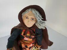 Duncan Royale Figurine History of Santa Ii Befana 2115/10,000 Christmas