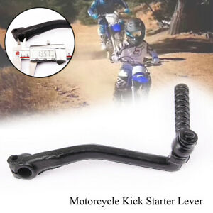 Metal Motorcycle Bike Kick Starter Lever Pedal Gear Lever Bar Fit For PW50 PW 50