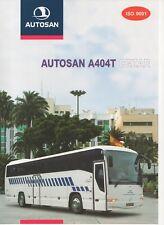 Autosan A404T Cezar bus (made in Poland) _2000 Prospekt / Brochure