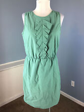 BCBGeneration BCBG Green Sheath Dress M Excellent Career Casual
