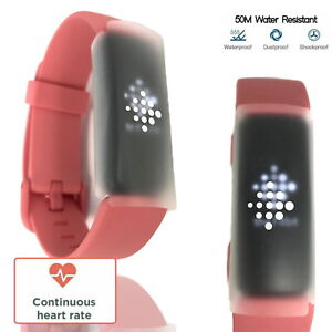 Fitbit Inspire 2 Fitness Tracker Wrist Band Sports Smart Watch Activity Pink