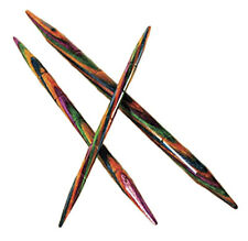 OPTIONS RAINBOW WOOD CABLE KNITTING NEEDLES by KNIT PICKS - 3 PER PACKAGE!
