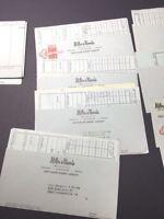 Vintage Lot Of Miller & Rhoads VA Department Store Receipts 1957-1958 Ephemera