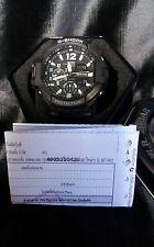 G-Shock GA1100 Black&White  Pilot Aviation Sky Cockpit GravityMaster Defier Nice