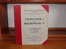 Old TARKHAN I MEMPHIS V Book 1913 ARCHAEOLOGY IN EGYPT EGYPTIAN RESEARCH HISTORY