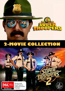 Super Troopers / Super Troopers 2 (2-Movie Collection)  - DVD - NEW Region 4