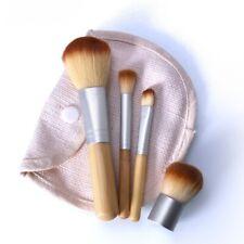 4 tlg mini Kosmetik Pinsel Make up Pinsel Set Bürste Schminkpinsel Lidschatten