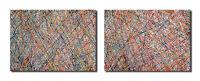 2 Gemälde Acryl Bilder abstrakt Galerie Malerei Kunst Bild modern UNIKAT Kunst