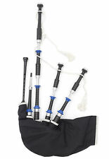 McCallum Police Department themed highland bagpipes synthetic zip bag + chanter