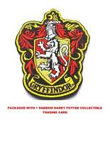 HARRY POTTER Gryffindor Large Crest Embroidered Iron/Sew Patch (With Tracking)