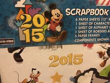 New listing Disney Page Scrapbook Kit Mickey Mouse Rare 2015