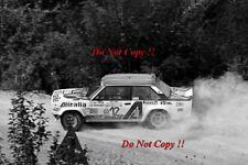 Attilio Bettega FIAT 131 Abarth Rally San Remo 1979 fotografia 1