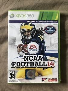 NCAA Football 14 (Xbox 360, 2013) Authentic, Complete