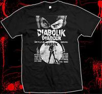 Danger Diabolik - Hand silk screened, Pre-shrunk 100% Cotton t-shirt