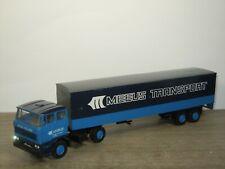Daf 2800 Truck & Trailer Meeus Transport - Lion Car Holland 1:50 *42486