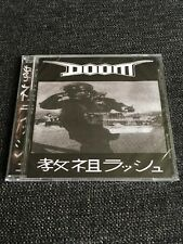Doom - Rush Hour of the Gods Cd Candlelight Records Hardcore Crust Punk