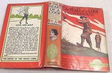 PG Wodehouse The Heart of a Goof ** RARE in D/J ** 1936